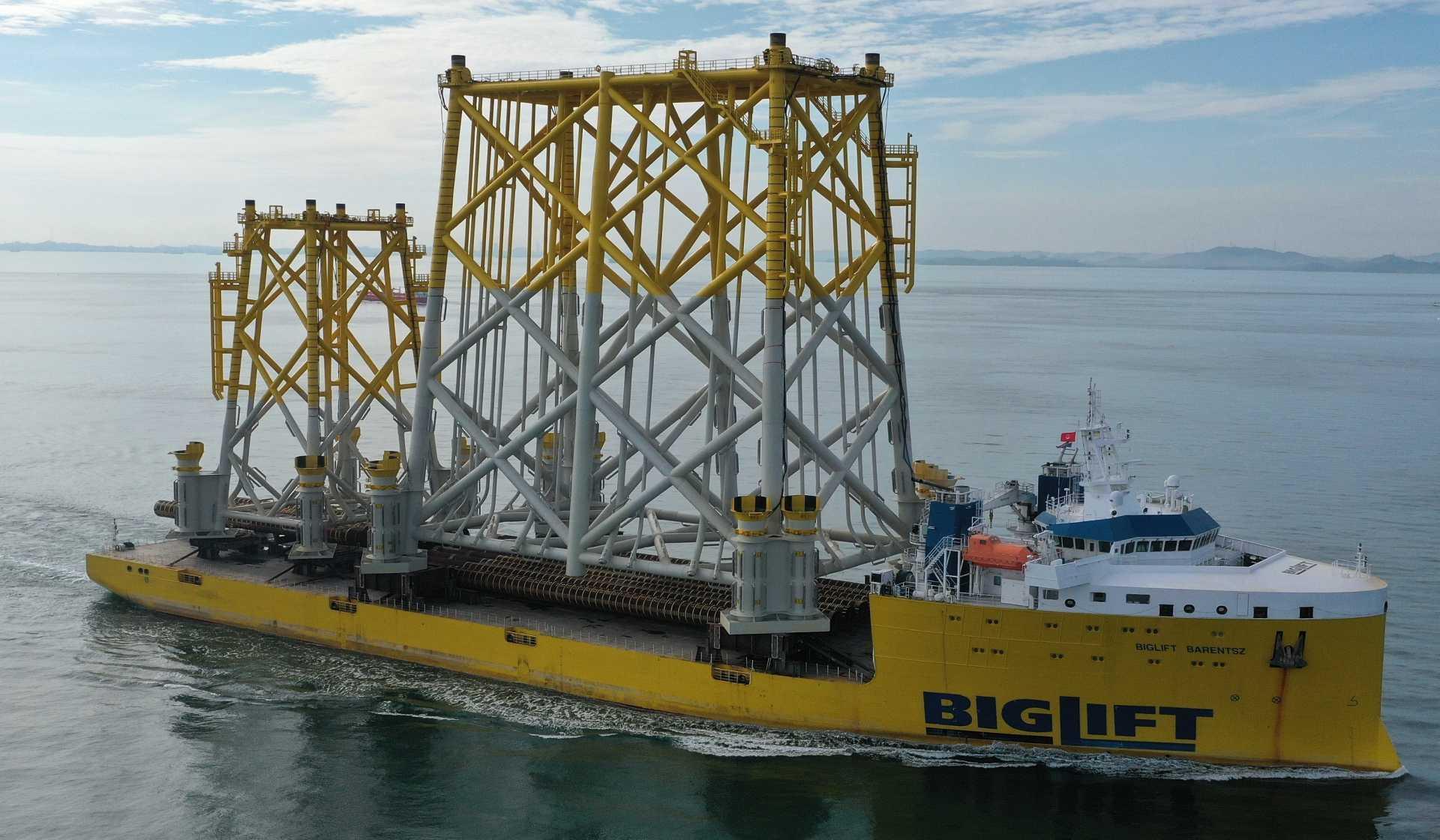 GRS Jacket Transport Vessel Charter Purchase Sale Logistics Services