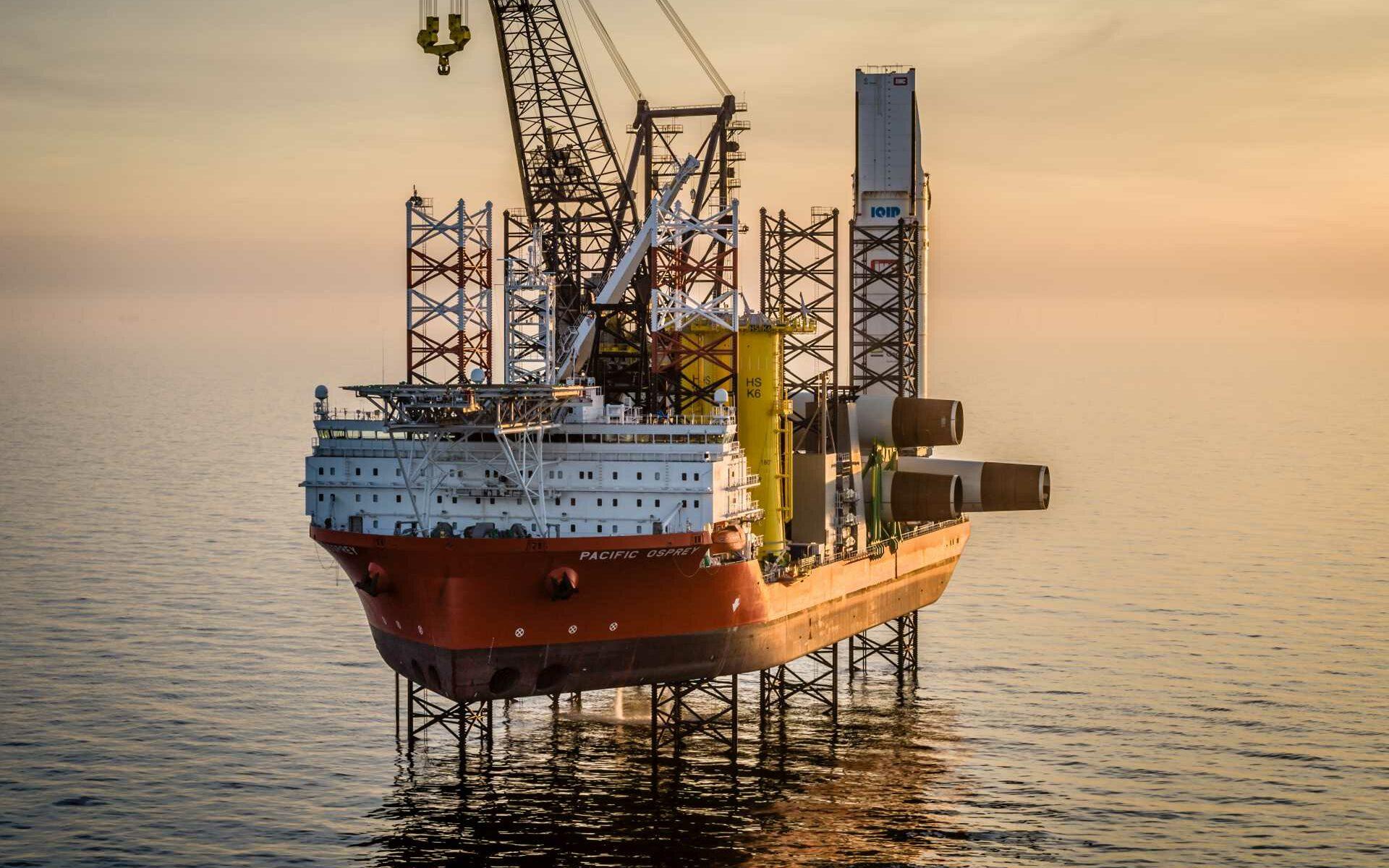 Wind Turbine Installation Vessel JACK Charter Purchase Brokerage Services GRS